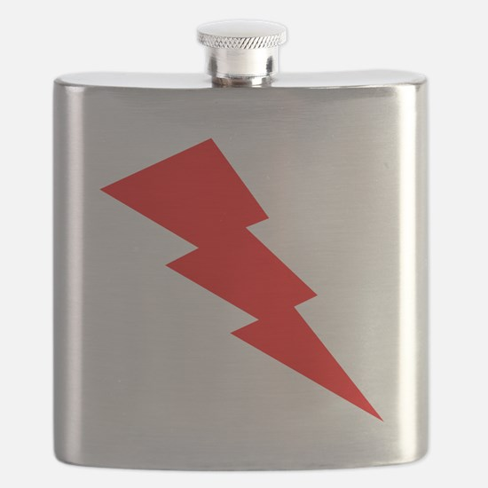 Red Lightning Flask