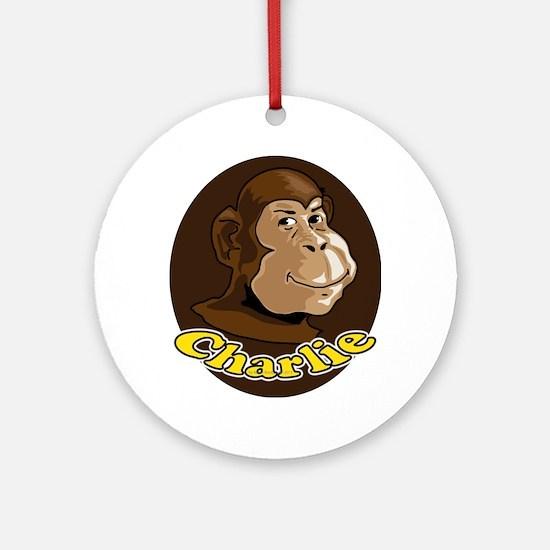 Charlie Ornament (Round)