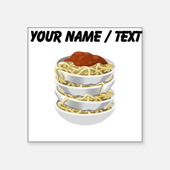 Custom Bowls Of Pasta Sticker
