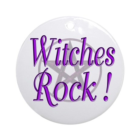Witches Rock ! Ornament (Round)