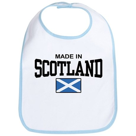 Made In Scotland Bib