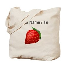 Custom Strawberry Tote Bag