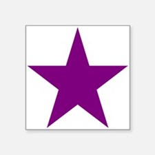 Purple Star Sticker