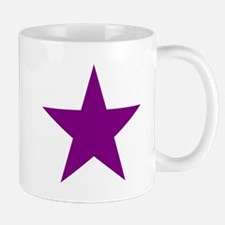 Purple Star Mugs