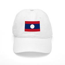 Laos Flag Baseball Cap