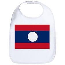 Laos Flag Bib