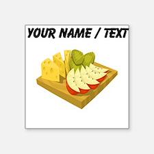 Custom Snack Plate Sticker