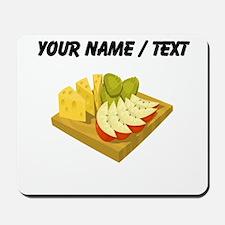 Custom Snack Plate Mousepad
