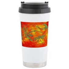Dragonfly Fire Travel Mug