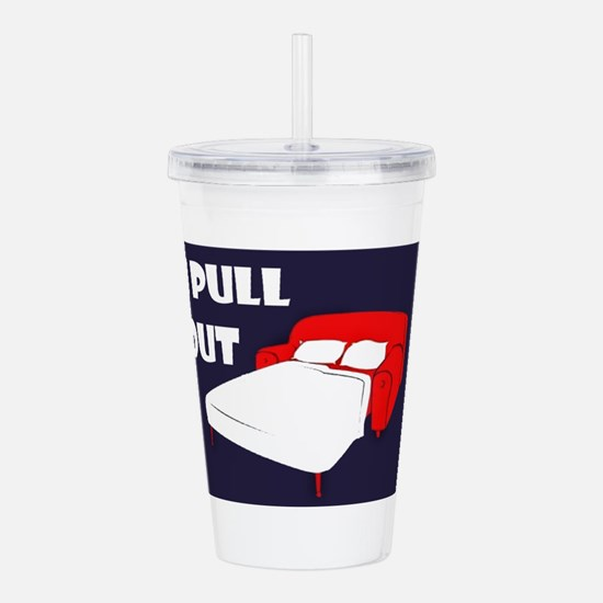 Pull Out Acrylic Double-wall Tumbler