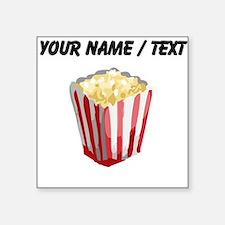 Custom Popcorn Sticker