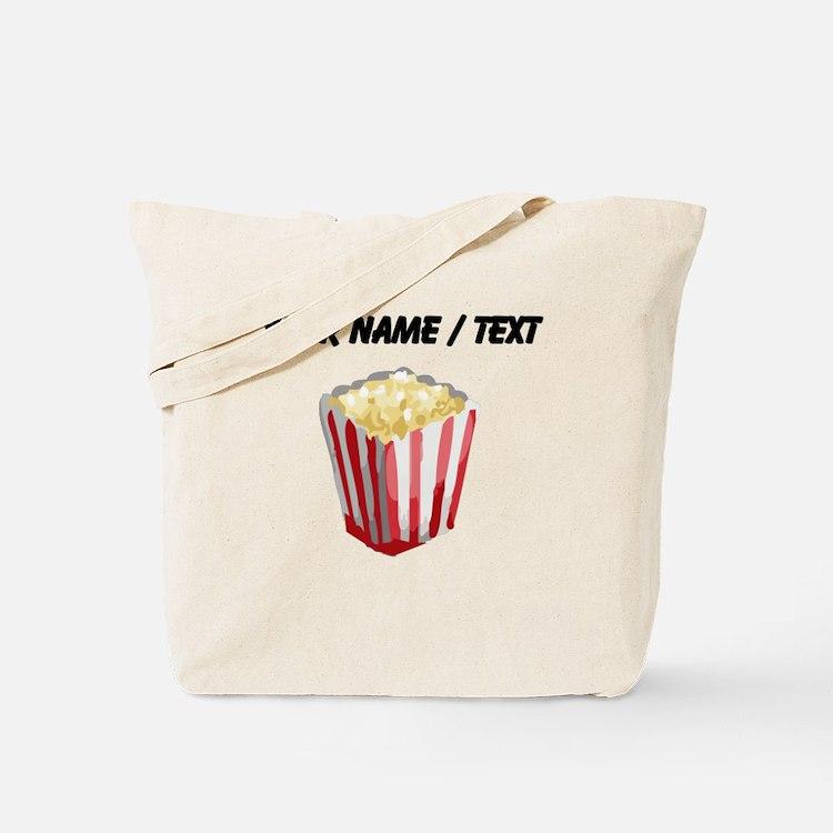 Custom Popcorn Tote Bag