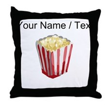 Custom Popcorn Throw Pillow