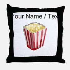 Custom Popcorn Throw Pillow