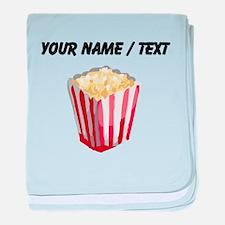 Custom Popcorn baby blanket