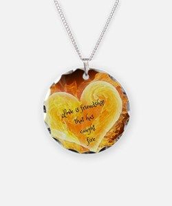 Love Is Friendship Necklace