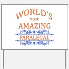 Paralegal Yard Sign