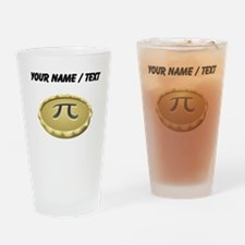Custom Pi Pie Drinking Glass