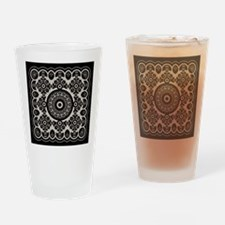 Lacy Mandala Drinking Glass