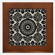Lacy Mandala Framed Tile