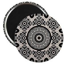 Lacy Mandala Magnets