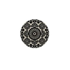 Lacy Mandala Mini Button