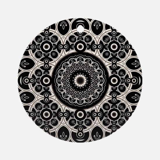 Lacy Mandala Ornament (Round)