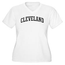 CLEVELAND (curve-black) T-Shirt