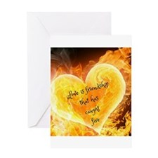 Love Is Friendship Greeting Cards