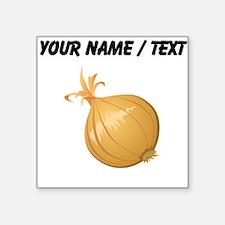 Custom Onion Sticker