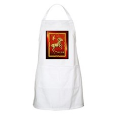 Chinese Golden Ram Apron
