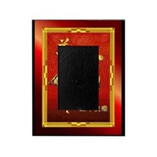 Chinese Golden Ram Picture Frame