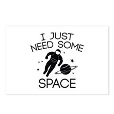 I Just Need Some Space Postcards (Package of 8)