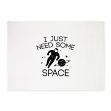 I Just Need Some Space 5'x7'Area Rug