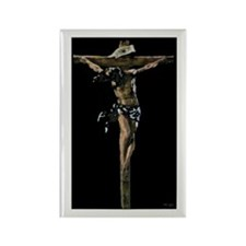Jesus on the Cross Rectangle Magnet (10 pack)
