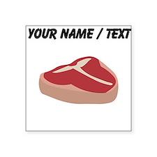 Custom T Bone Steak Sticker