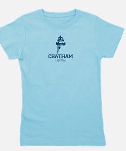 Chatham. Cape Cod. Lighthouse Design. Girl's Tee