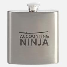 Accounting Ninja Flask