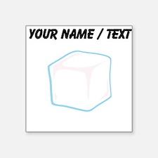 Custom Ice Cube Sticker