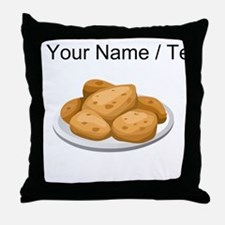 Custom Hot Potatoes Throw Pillow