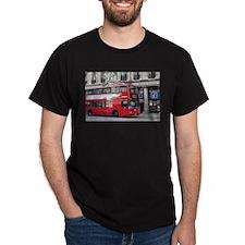 Red London Double Decker Bus, England T-Shirt