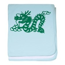 Dragon Chinese East Asian Astrology Z baby blanket