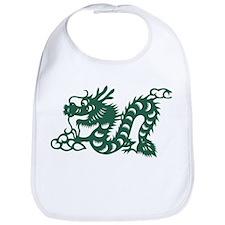 Dragon Chinese East Asian Astrology Zodiac Sig Bib