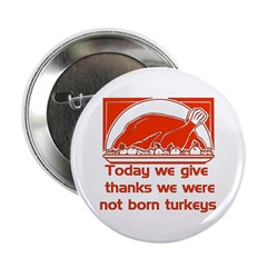 Thanksgiving Humor Blessing Button