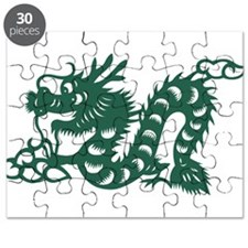 Dragon Chinese East Asian Astrology Zodiac Puzzle