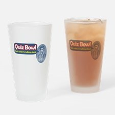 Quiz Bowl Drinking Glass