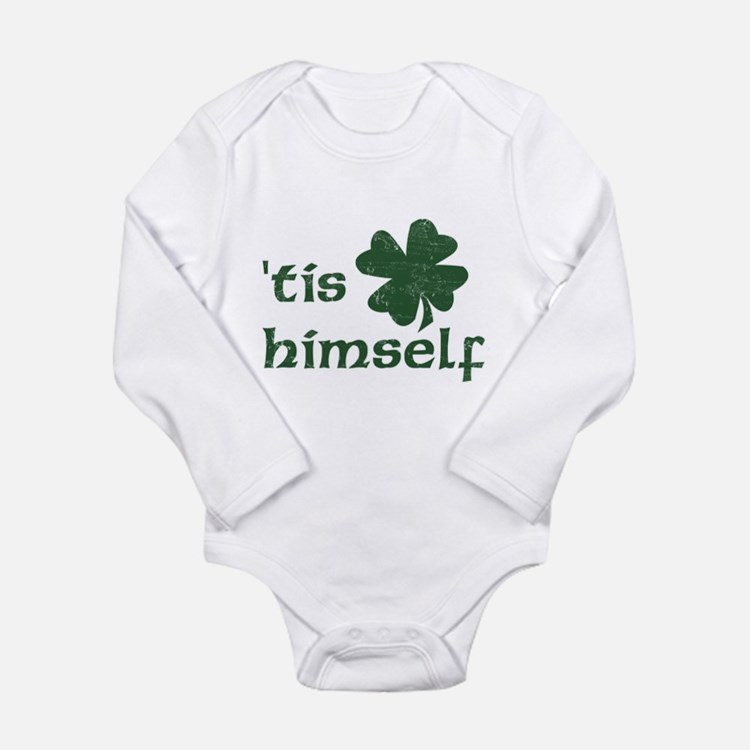 Cute Irish celtic sayings Long Sleeve Infant Bodysuit