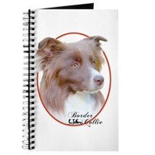 Red Border Collie Cameo Journal