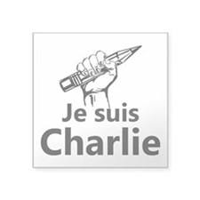 I am Charlie, Je suis Charlie Sticker
