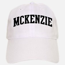 MCKENZIE (curve-black) Baseball Baseball Cap